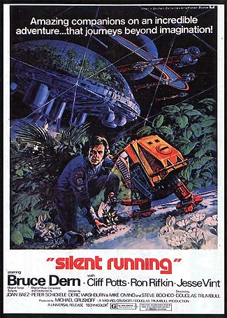 Silent Running Movie Poster from 1972