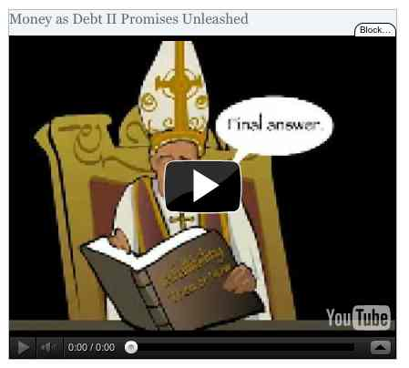 Image to go with video of: Money as Debt II Promises Unleashed